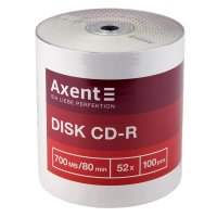 Диск CD-R Axent 700Mb bulk 100шт/уп